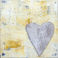 Malerei Herz