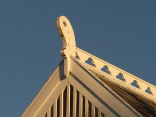 Viking roof's decoration
