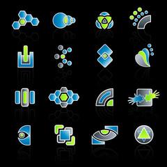 Modern company logo collection