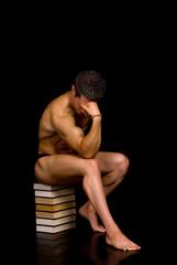 Pensive Body Builder