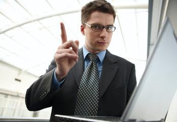 Atractive businessman