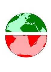 mondo, divisione ricchezza povertà