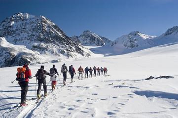 Skitour zum Linken Fernerkogel im Pitztal