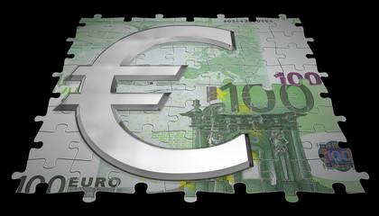 100 eur puzzles
