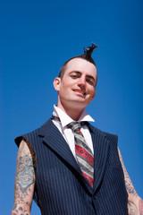 Alternative fashion man