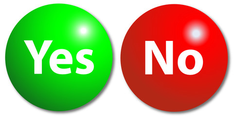 Yes & No buttons