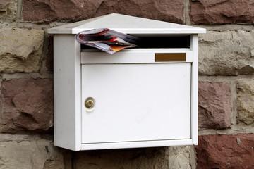 Publicité dans boîte à lettres