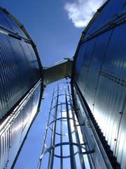 echelle sur silo
