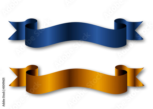 blue and gold ribbon design stock photo and royalty free images on