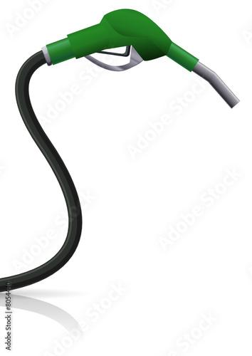Pistolet essence vert sans plomb fichier vectoriel - Pistolet a essence ...
