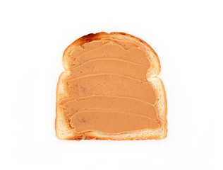 toast with peanut butter and jelly