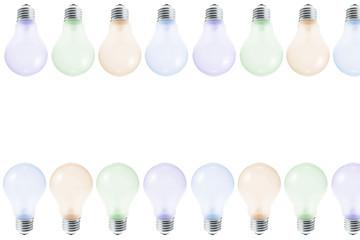 Colour Light Bulbs