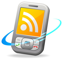RSS on cell phone