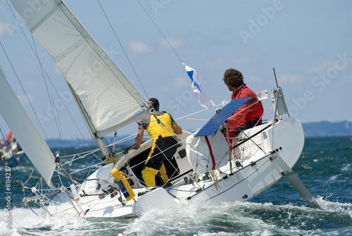 Course de voilier photo libre de droits sur la banque d - Photo de voilier gratuite ...