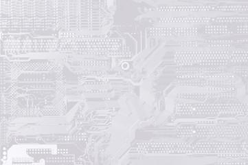 printed circuit - motherboard