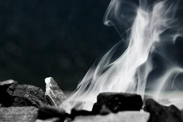 fumée de barbecue