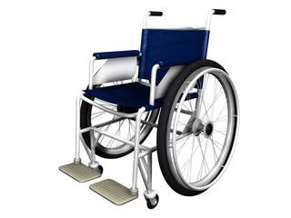3D Rollstuhl