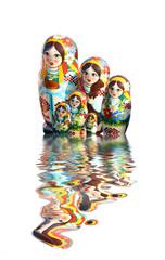 Ukrainian babuschka dolls