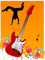 guitar and dancer