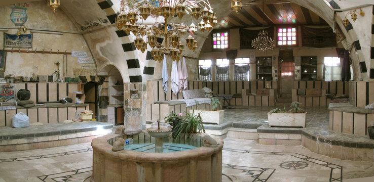 Hammam, Damas, Syrie
