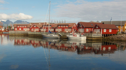 Svolvaer's boats and rorbuers