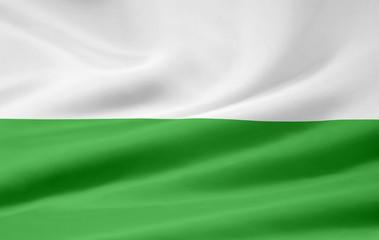 Freistaat Sachsen Flagge