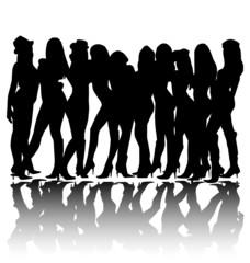 woman group