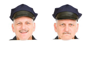Police Head Design Elements