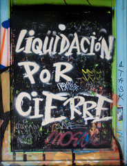 Urban graffiti cierre