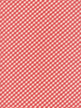 Red, checkered cotton, linen, picnic, shirt fabric background.