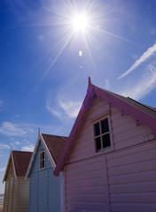 Beach Hut Sunshine