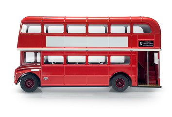Poster London red bus London bus