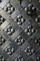 Details of an ancient iron gate