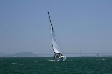 Tilting Sailboat