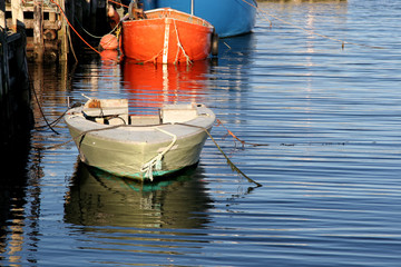 Peggy's Cove Wharf Boat, Nova Scotia