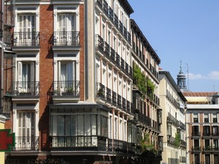 Style architectural du centre de Madrid