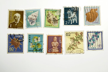 historic stamp collection