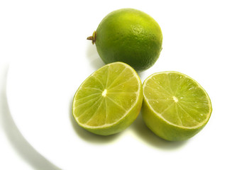 Lime group on plate