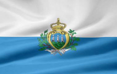San Marino Flagge