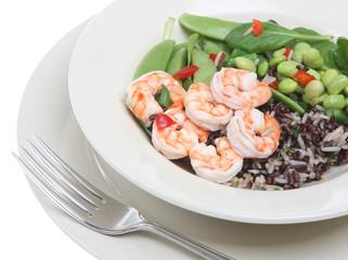 Prawn and Bean Salad