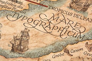 Alte Typographische Karte