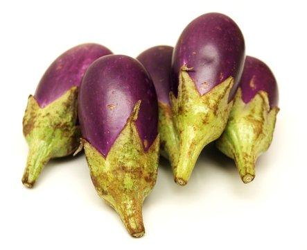 Aubergines thai