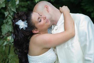 tendresse entre mariés
