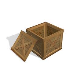 Empty box for post sendings
