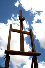 Easel and Sky