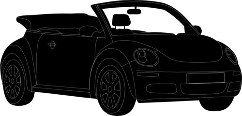 Wall Mural - VOITURE CABRIOLET VEC 01