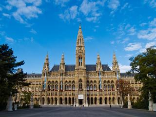 Keuken foto achterwand Wenen Vienna cityhall