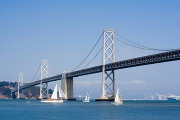 Oakland Bay Bridge in San Francisco