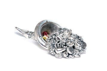 silver horn of plenty