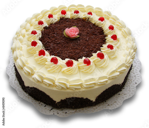 Schwarzwalder Kirsch Torte Stock Photo And Royalty Free Images On